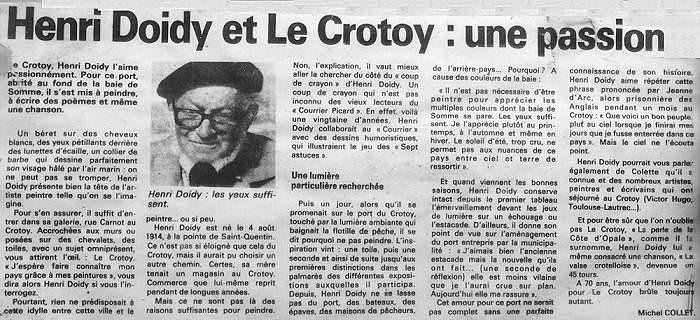 Courrier Picard 1985