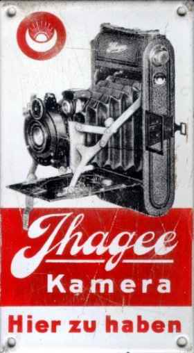 Ihagee dealer advertising  (1930)