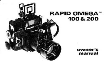 Rapid Omega 100 Instruction Manual