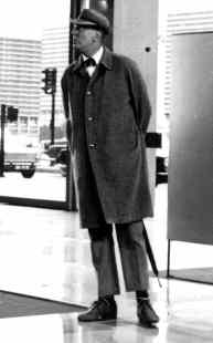 Jacques Tati in 'Monsieur Hulot'